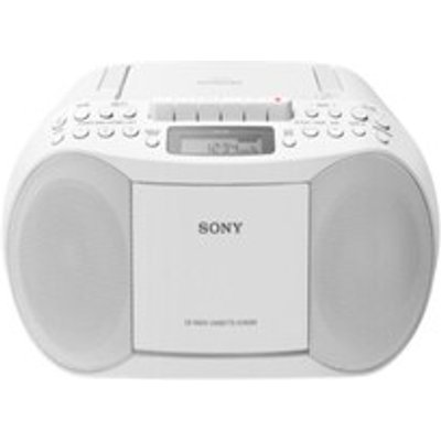 CD Radio Sony CFDS70W White