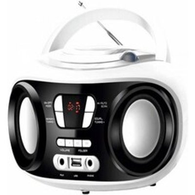 Radio CD Bluetooth MP3 BRIGMTON W 501 USB White