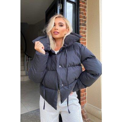 Black Jackets - Billie Faiers Black Puffer Jacket
