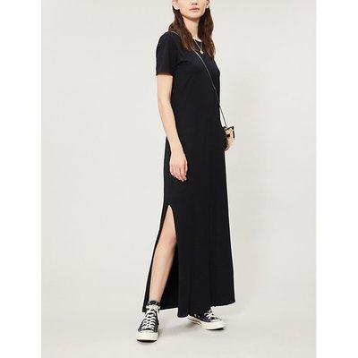 Alana cotton-blend jersey midi dress
