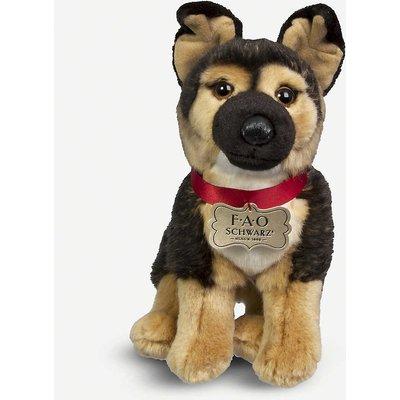 German Shepherd plush toy 25cm