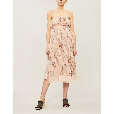 Bowie silk crepe dress