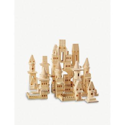 Castle wooden building blocks 150 pieces