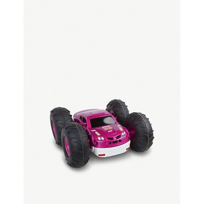 Remote control flip stunt rally car