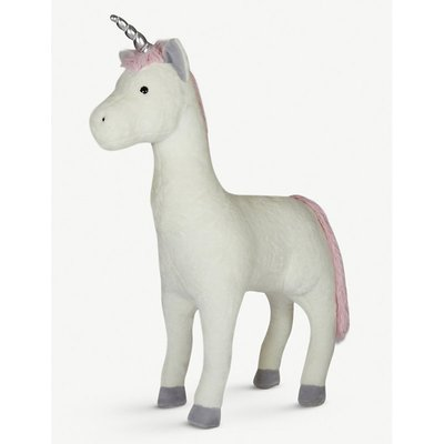 Standing plush unicorn toy 1.72m