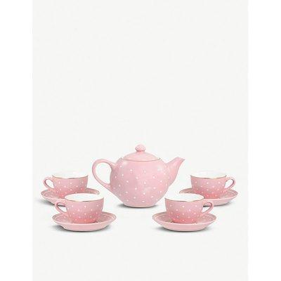 Ceramic tea set 10-pieces