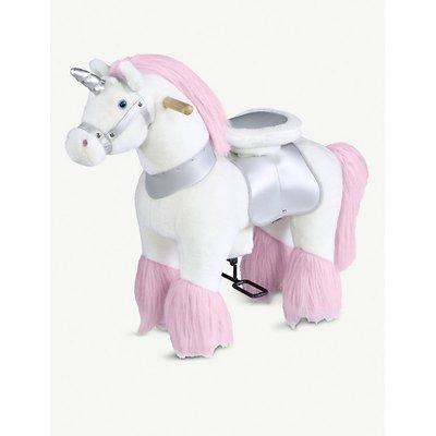 Ride-on unicorn soft toy 63.5cm x 27.9cm
