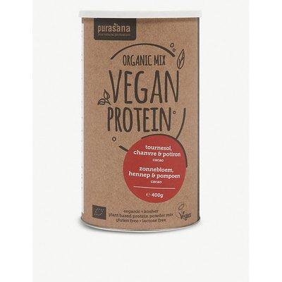 Vegan pea, rice, pumpkin and chocolate protein powder 400g