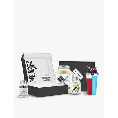 Vegan protein and wellbeing box
