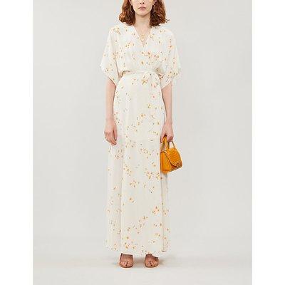 Reformation Winslow Floral-Print Crepe Maxi Dress