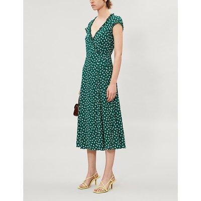 Gwyenth floral-print crepe midi dress
