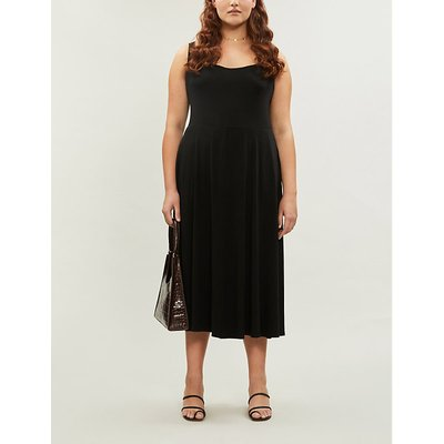 Reformation Mary Jersey Midi Dress Extended Sizing