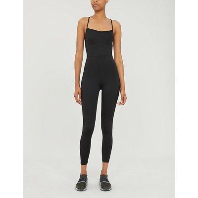 Josephine strappy stretch-jersey jumpsuit