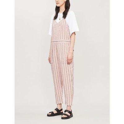 Nina linen-blend jumpsuit
