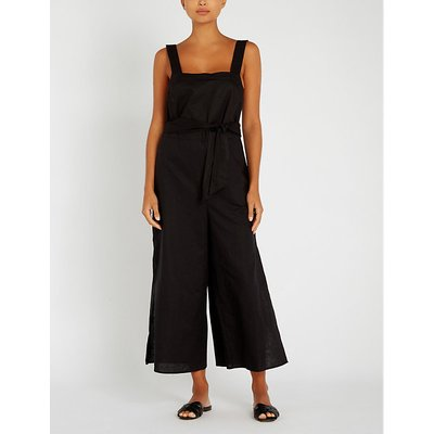 Inka Gypsy linen and cotton-blend jumpsuit