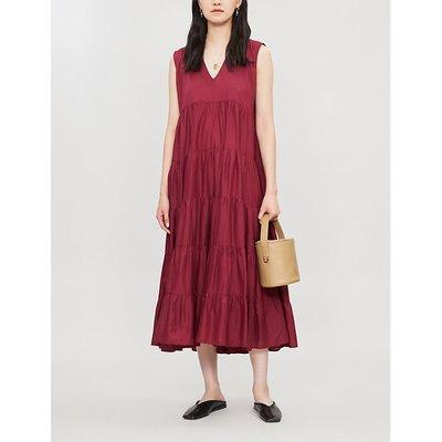 Santa Elena A-line cotton midi dress