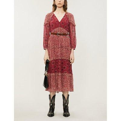 Gypsie chiffon midi dress
