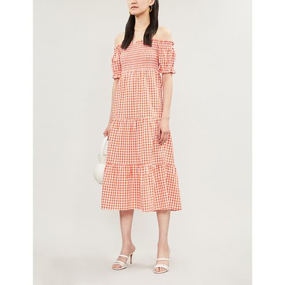 Alma gingham dress