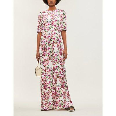 Truman floral-print wide-legged jumpsuit