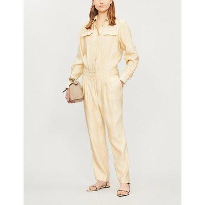Anouk linen-blend jumpsuit