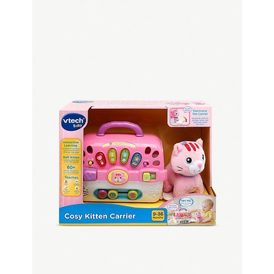 Vtech Cosy kitten carrier soft toy and carry case