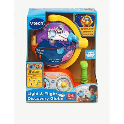 Light & flight discovery globe playset