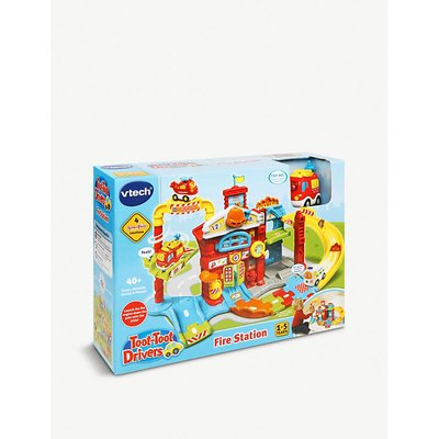 Toot-toot drivers fire station playset