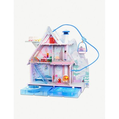Winter Disco Chalet Doll House
