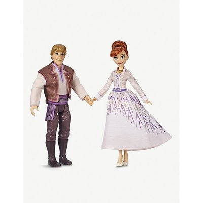 Disney Frozen II Anna and Kristoff dolls