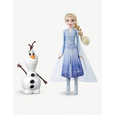 Disney Frozen II Talk and Glow Olaf and Elsa dolls