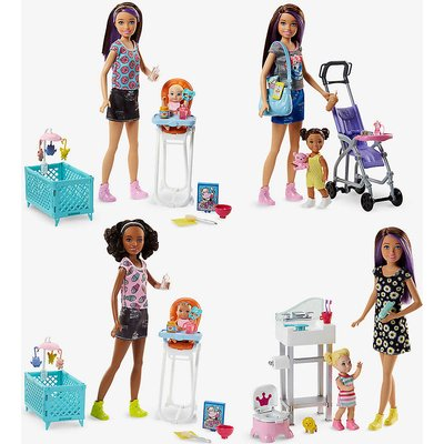 Skipper Babysitters doll and playset assortment
