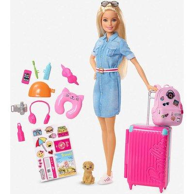 Barbie Travel Doll Set