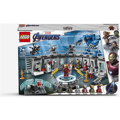 76125 Marvel Superheroes Iron Man Hall of Armor set