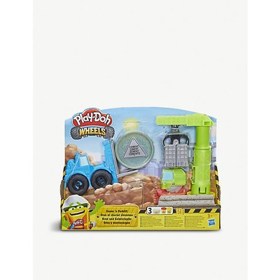Wheels Crane and Forklift Construction Toy