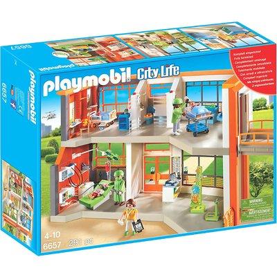 Playmobil City Life Furnished Children's Hospital