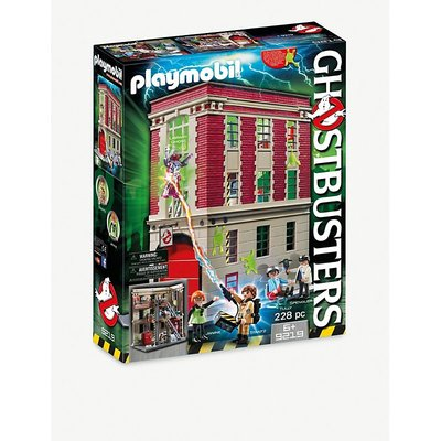 Playmobil Kids Ghostbusters Fire Headquarters Playset