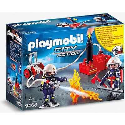 City Action 9468 firefighters and pump playset