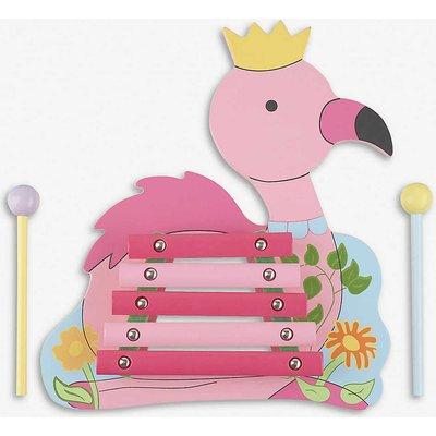 Flamingo wooden xylophone