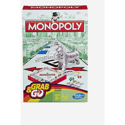 Hasbro Gaming Monopoly Grab and Go board game