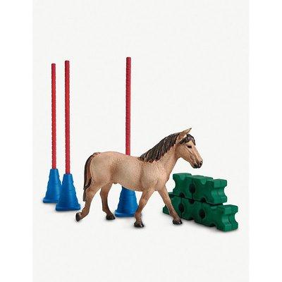 Farm World Pony slalom toy set