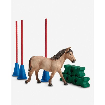 Farm World Pony slalom toy set