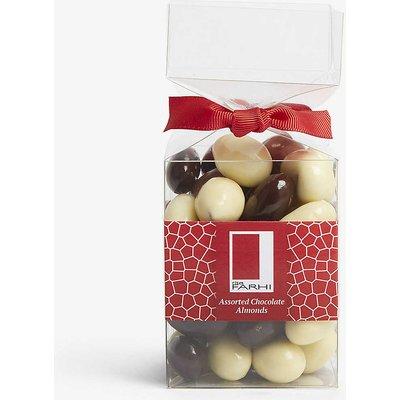 Assorted chocolate almonds 210g