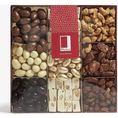 Farhi Chocolate and Caramelised Nut Selection Box, Size: 1080g