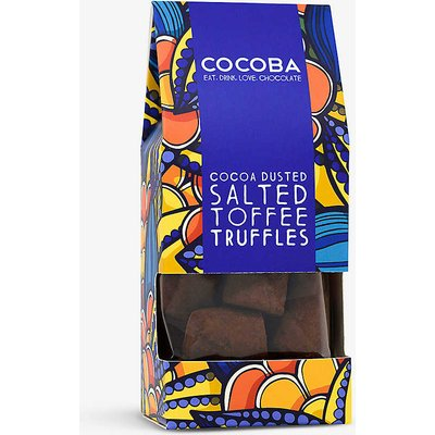 Cocoba Dusted salt toffee truffles 200g, Size: 1 Size