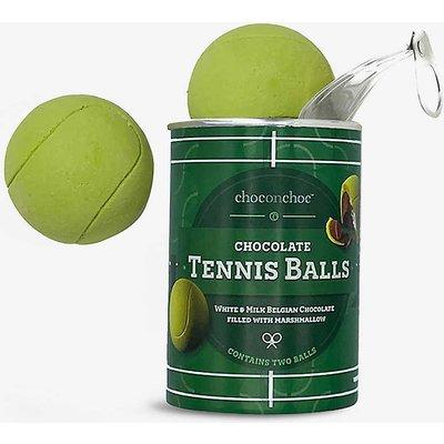 Tennis ball-shaped chocolates box of two