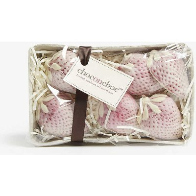 White chocolate strawberry punnet 6 pieces