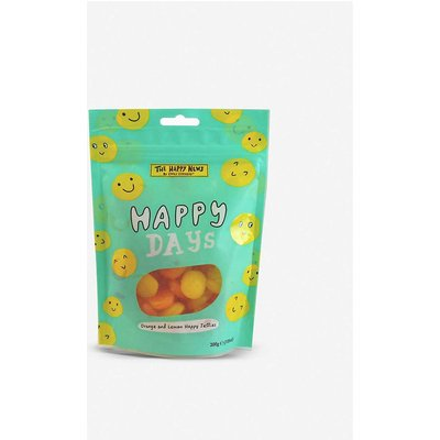 The Happy News Happy Days orange and lemon jelly sweets sharing bag 200g