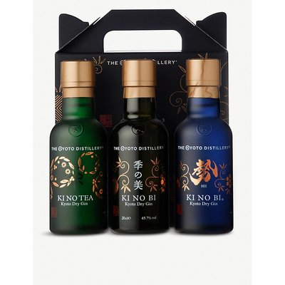 The Kyoto Distillery gin miniatures tasting set 200ml x 3