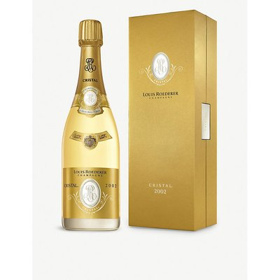 Louis Roederer 2002 Cristal Blanc champagne 750ml