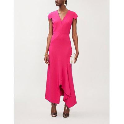 Kinglake stretch-crepe maxi dress